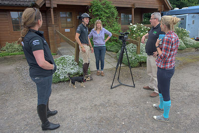 H&C TV RUDALL RIDES WITH ALICE PLUNKETT photos