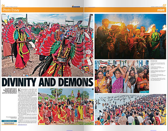 Dusshera in Hindustan-Times-Mint-Lounge-October-2013-. photos