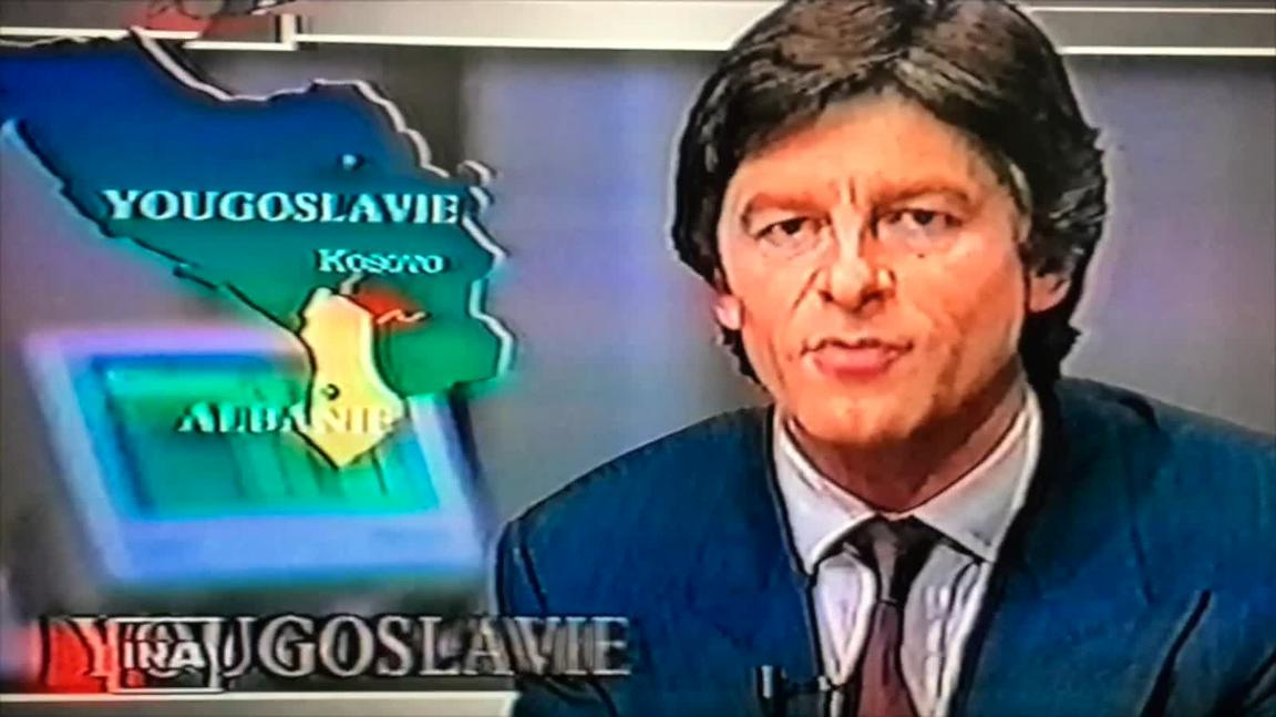 Video: News program on french TV, January 31st 1990