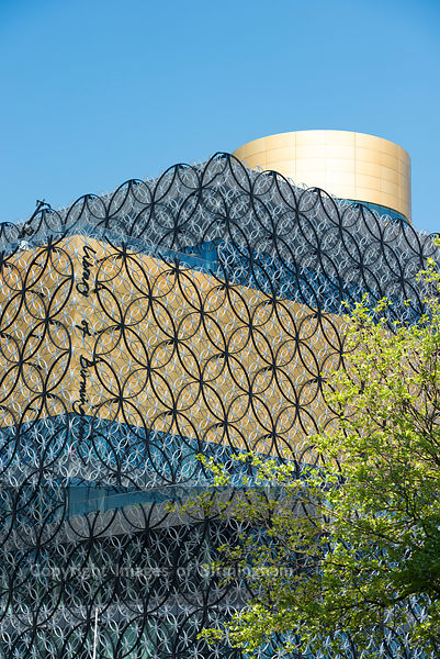 The new Library of Birmingham, West Midlands, England, UK