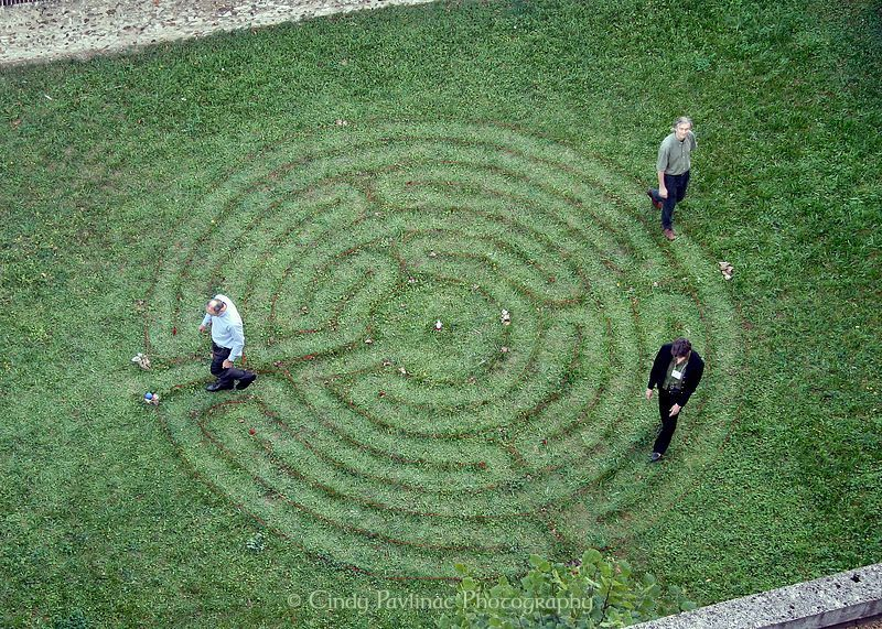 Cindy Pavlinac Photography Chartres Garden Labyrinth