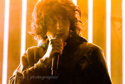 Oliver Sykes, vocals, Bring Me The Horizon