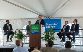 Offshore Wind Power Announcement: Gov. Northam, Dominion Energy, Ørsted