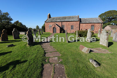 13th Century Church of St Michael & All Angels, Addingham, Glassonby, Cumbria, England