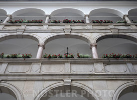 The courtyard Balcony in Linzer Landhaus