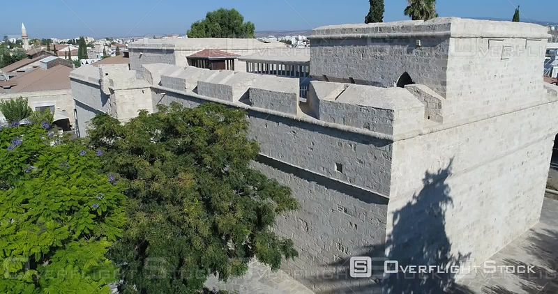 Limassol Castle Drone Video Cyprus