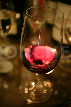 Photo d'un verre de vin
