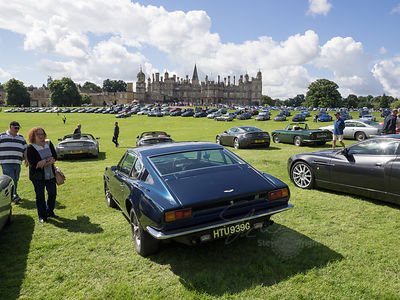 Aston Martin Burghley House Gathering - July 2016 images