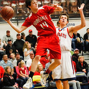 Basketball: Homedale vs. Filer (3A semifinal) 3/7/14 photos