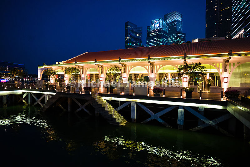 Once the landing point of Singapore's forefathers, the Clifford Pier has been transformed into an elegant waterfront hotel.