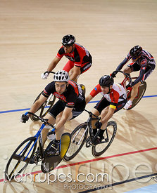 Master C keirin final. 2014 Canadian Track Championships, January 6, 2015