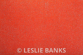 Orange Speckled Fabric Background