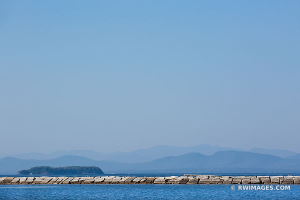 BURLINGTON VERMONT HARBOR VIEW LAKE CHAMPLAIN VERMONT