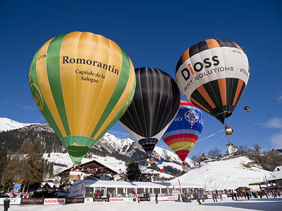 Festival International de Ballons de Château-d'Oex 2016 photos