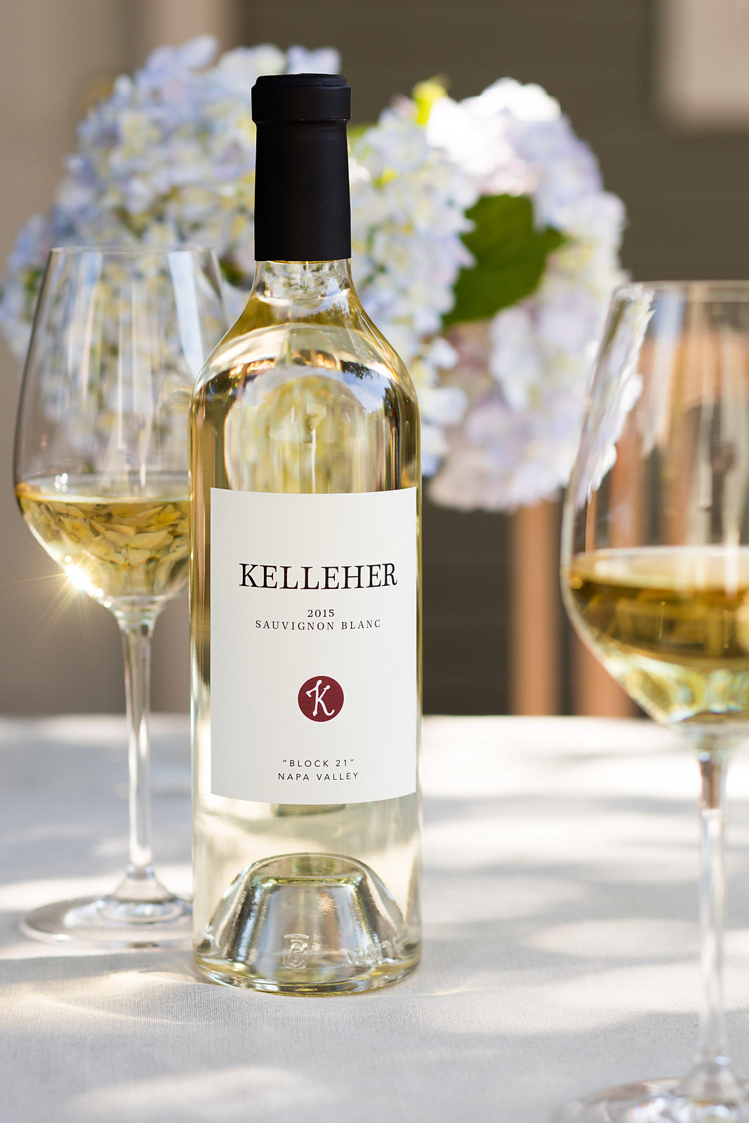 Springtime styling for Napa Valley wine brand, Kelleher Estate. Photographed on-location by Jason Tinacci