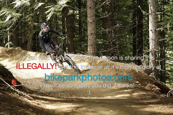 Tuesday June 26th - BLine (upper) bike park photos