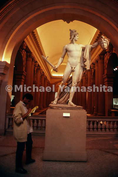 Perseus with the Head of Medusa.Metropolitan Museum of Art.New York City, NY