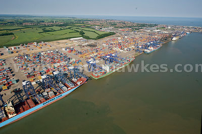 Port of Felixstowe, Suffolk