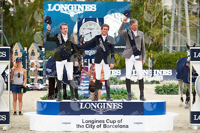 Prize Giving ceremony of Longines Cup of the City of Barcelona