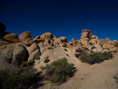 Joshua Tree, California Antelope Slot Canyons