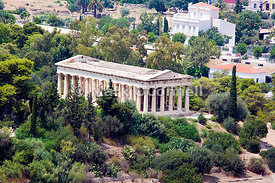 Hephaestus Temple Athens Greece
