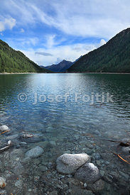 Neves Stausee, near Lappago, North Italy