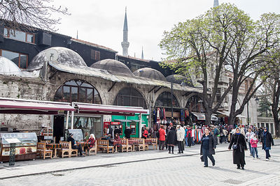 Souvenir shop and cafe, Hippodrome, Istanbul