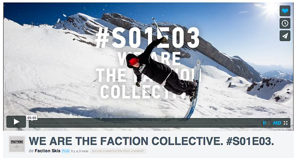 Adam Delorme for Faction skis webisode 2014