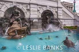 Court of Neptune Fountain at Library of Congress