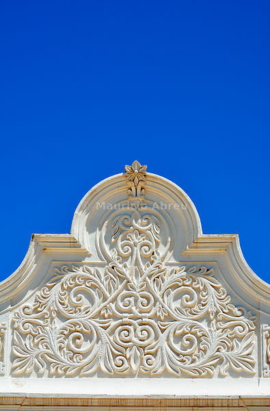 Detail of a traditional house, Castro Marim. Algarve, Portugal