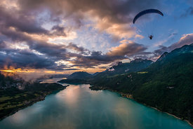 Paragliding at Sunset with Jim Nougarolles