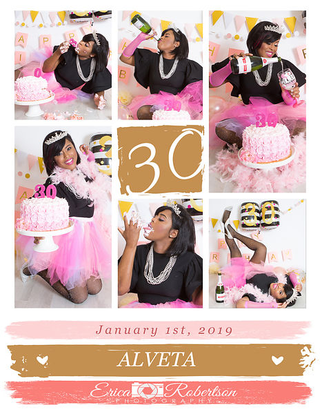 Cake Smash Glam Parties photos