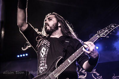 Chris Rörland, guitar, Sabaton, Ace of Spades, Sacramento