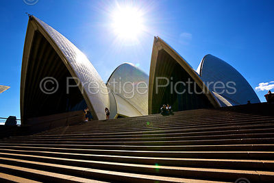 The Sydney Opera House in