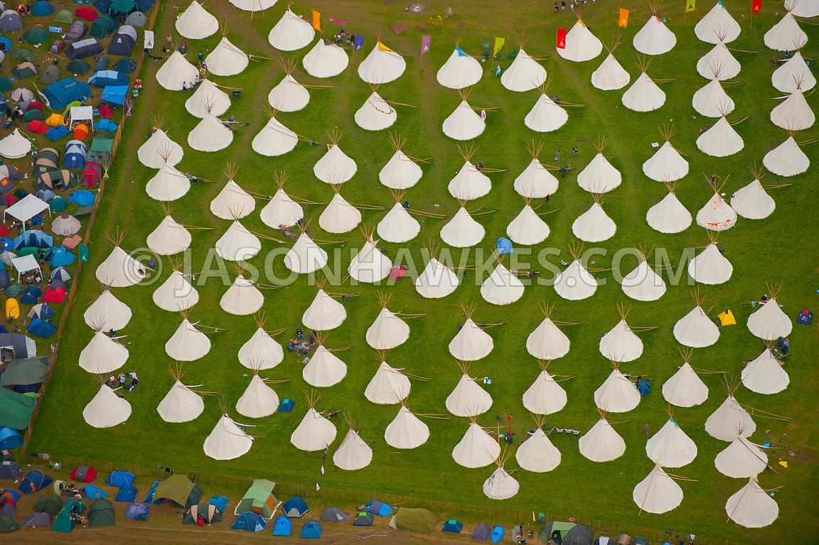 Glastonbury Festival, Somerset