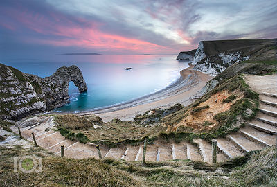 Winter evening Durdle Door