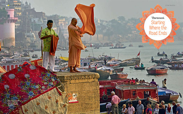 National Geographic Traveller India Magazine; Varanasi Photo Story; November 2017  photos