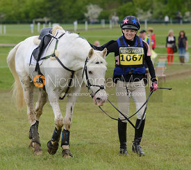 Becky Morrish and QUICK TO SPOT - Rockingham Castle International Horse Trials 2016