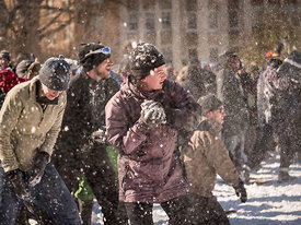 The Snowball Fight