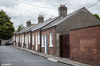 Cottages, Dalkey village, near Dublin, Ireland