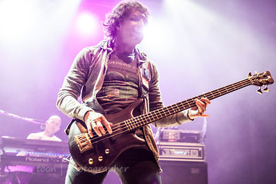 Pete Trewavas, bass, Marillion, Wolves, 2015