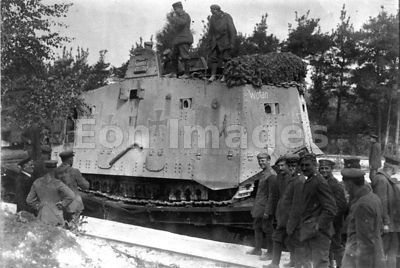 WWI German Wotan tank