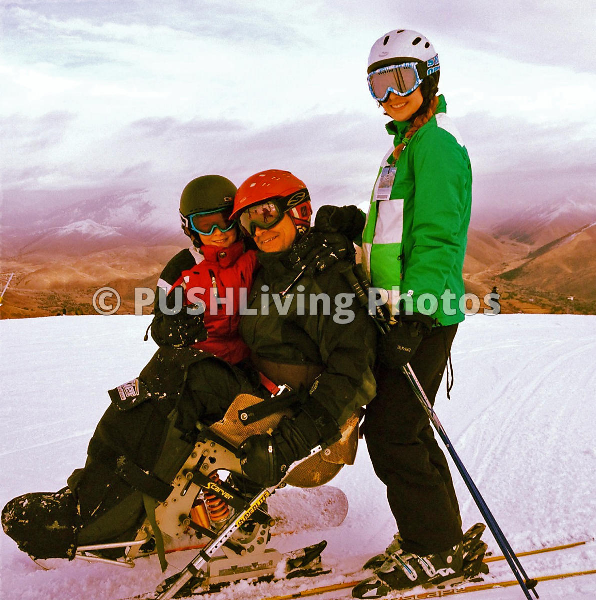Skiing with kids, Sun Valley Idaho