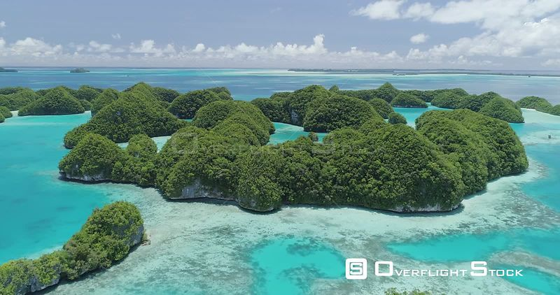 "The 70 islands or ""Ngerukewid"" of Palau are its first official conservation area. Designated in 1956 they are an iconic view of Palau."