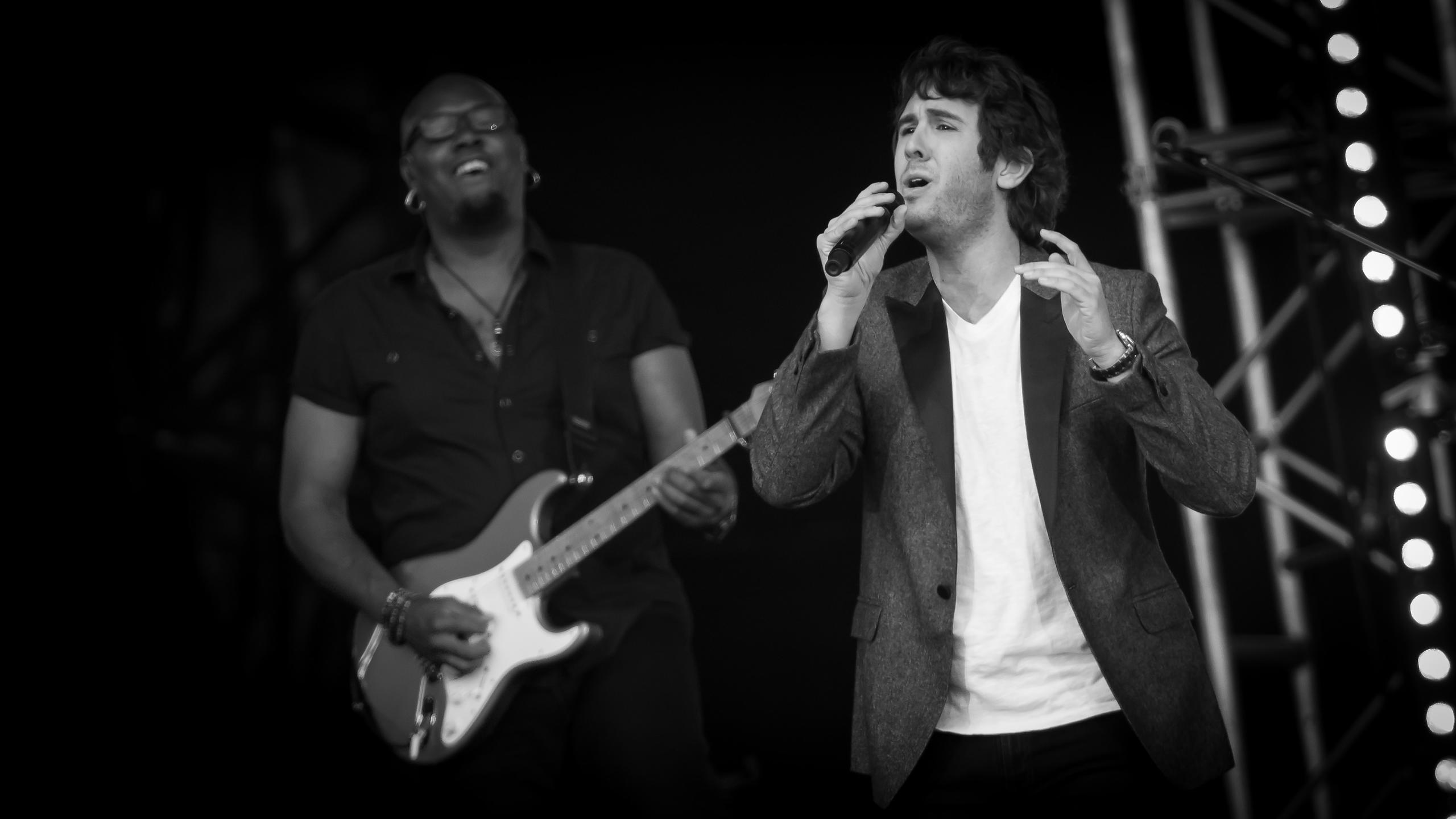 Josh Groban at Radio 2's Hyde Park Festival in a Day
