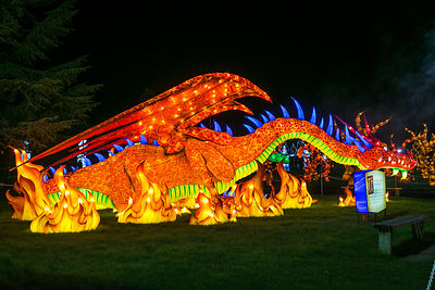 Longleat Festival of Light 2017-18