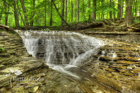 Waterfalls at Sixteen  Mile Creek