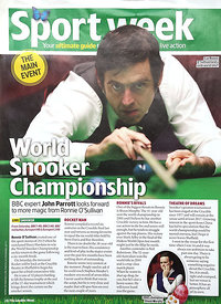 TV & Satellite Week 19 April 2014.4347454 – Steven Paston.