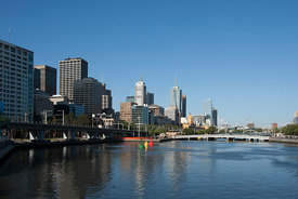 Yarra river view No.1