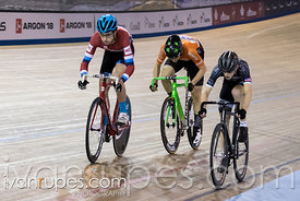 Junior Men Keirin 7-12 Final, 2017/2018 Track Ontario Cup #3, Mattamy National Cycling Centre, Milton On, February 10, 2018